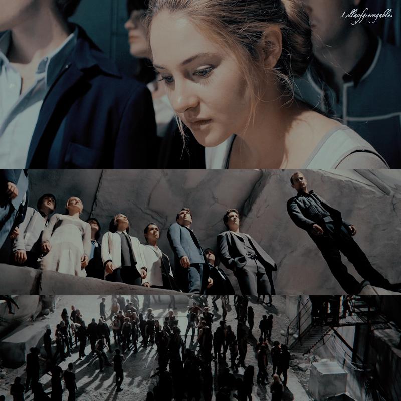 The Divergent series. La storia di Tris e Four nei film. Parte 1. Divergent.