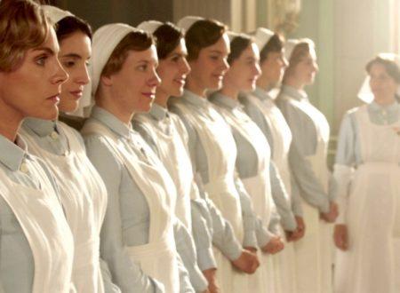 Tiempos de guerra. La stampa dipingeva così le dame infermiere.