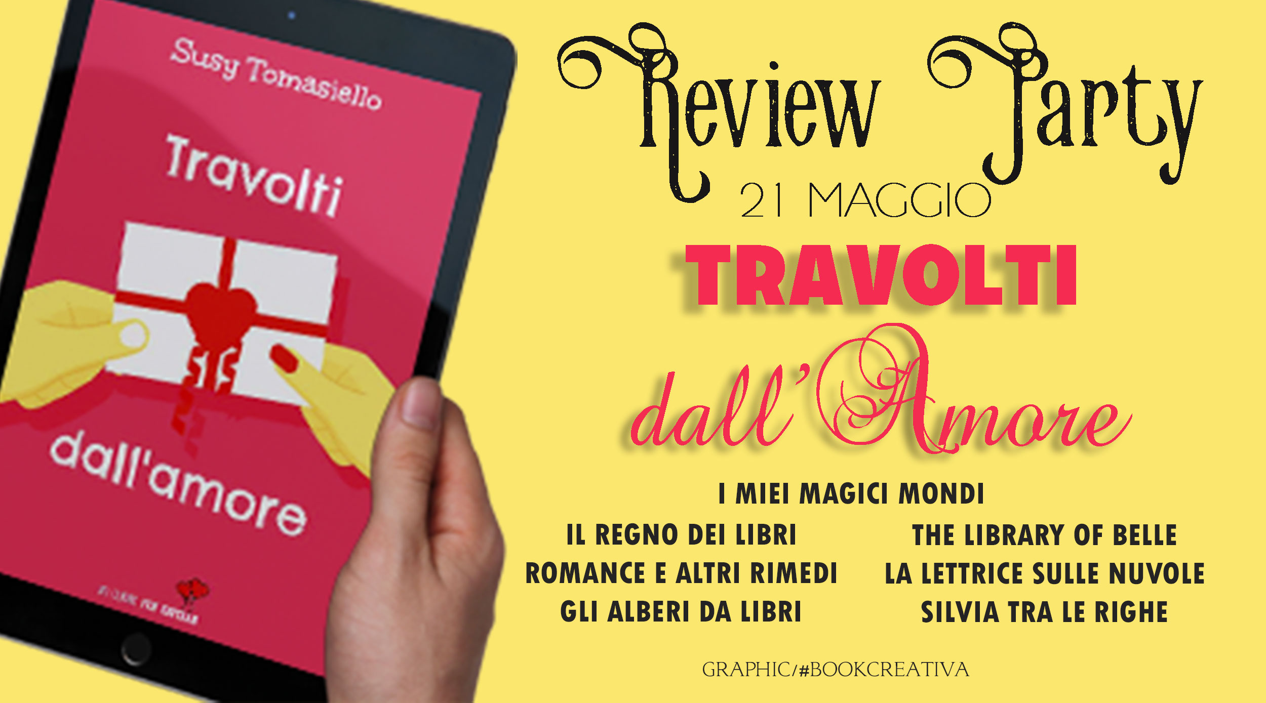 Review Party. Travolti dall'amore di Susy Tomasiello.
