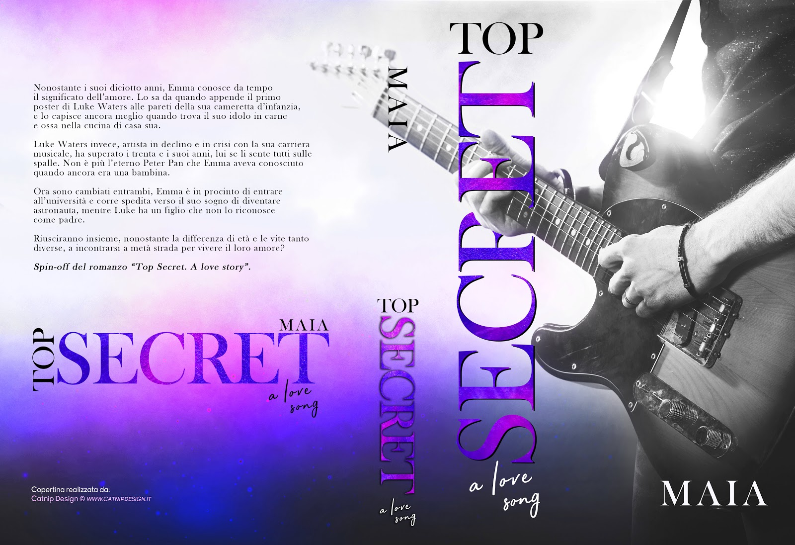 Top Secret. A love story - cover cartaceo
