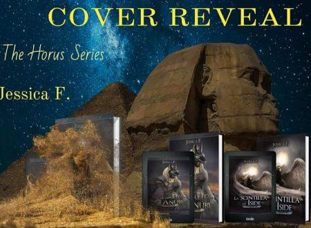 Il labirinto di Amon (The Horus Series) di Jessica F: Cover reveal
