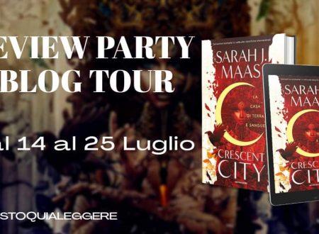 Crescent City La casa di terra e sangue di Sarah J. Maas : Review Party