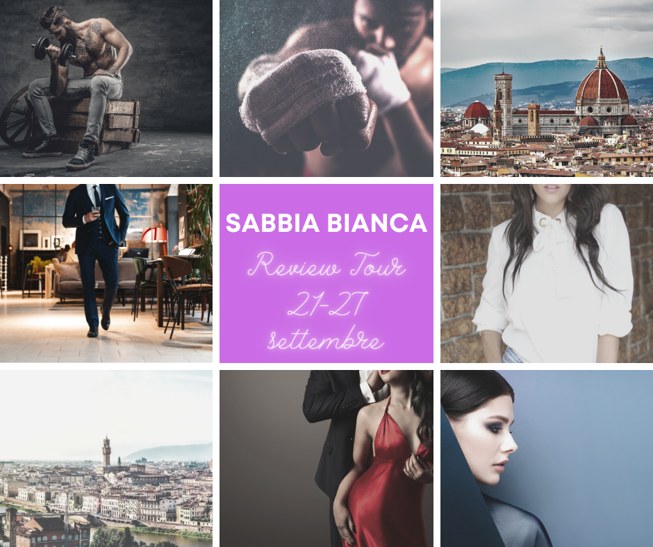 Sabbia Bianca - review tour- banner