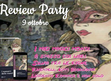 I sussurri delle maschere di Catherine Kullmann: Review Party