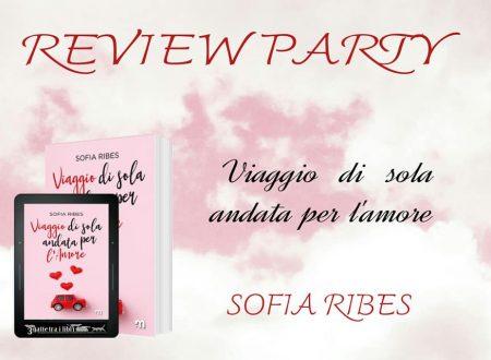 Viaggio di sola andata per l'amore di Sofia Ribes: Review Party