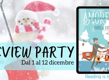 Amore a prima vista – Natale a Wishes Lake 1 di Fabiola D'Amico – Recensione:  Review Party