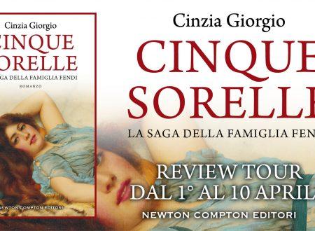 Cinque Sorelle di Cinzia Giorgio – Recensione: Review Tour