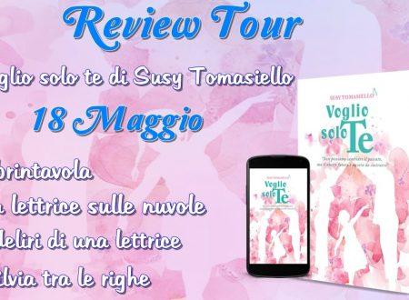 Voglio solo te  di Susy Tomasiello – Recesione: Review Tour