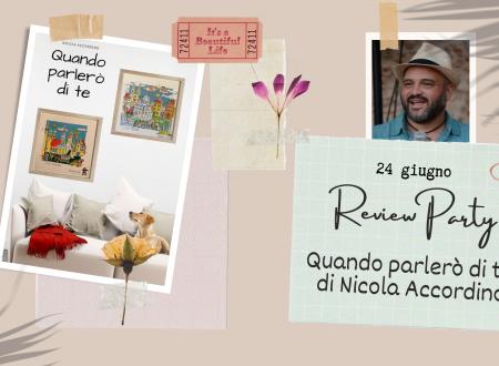 Quando parlerò di te (I figli del sogno #1) di Nicola Accordino – Recensione: Review Party