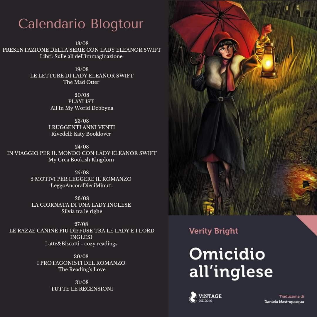 Omicidio all'inglese - calendario