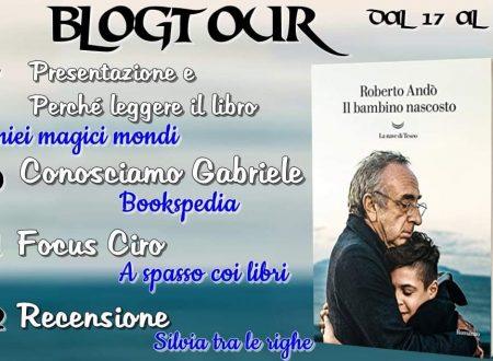 Il bambino nascosto di Roberto Andò : Blogtour – Tappa Recensione