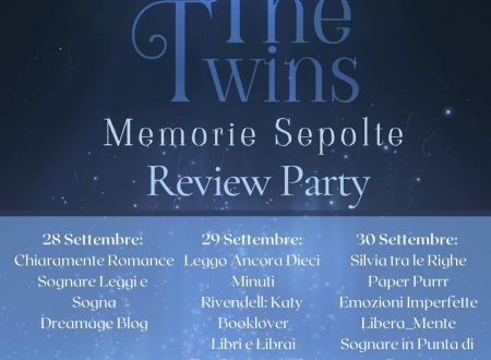 The Twins – Memorie sepolte (The Twins #2) di Jessica F – Recensione : Review Party